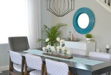 Home Decor Inspirations / Great ideas for decorating the house and putting a personal stamp on your home. / by Shannah @ Just Us Four