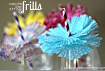Let's Party / Ideas for adult and family friend parties including recipes, decorations and favors. / by Shannah @ Just Us Four
