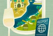 travel illustrated. / Everything that's travel and illustrated. Posters and maps, maps, maps. Colours and images that bring you back to your favorite spot immediately. Or illustrations that urge you to book that ticket to a place you've been longing to go to.