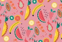 pattern. / Everything pattern. Everything colourfull and funny. Everything on repeat. Everything fabric and paper. Texture and textile. Stripes and dots, drawings and illustrations.