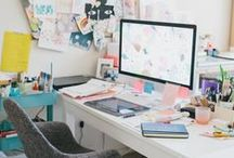 Workspace love / office and work spaces I'd love to spend time in