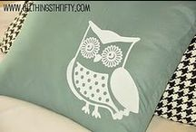 Silhouette Crafts / Ways to use silhouettes for crafts and projects. / by Shannah @ Just Us Four