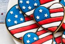 Memorial Day & 4th of July / Ideas and recipes for a fun-filled holiday BBQ, celebrating our country's birthday and Memorial day! / by Shannah @ Just Us Four