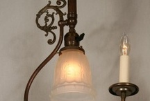 Pendants & Lanterns / Illuminate and enhance your home's beauty with our professionally restored authentic vintage pendants.  / by Restoration Lighting Gallery