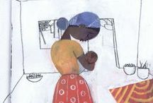EMMANUEL'S DREAM / My book, EMMANUEL'S DREAM, is a picture book biography of Emmanuel Ofosu Yeboah. It will be published by Schwartz & Wade/Random House in spring 2015 and illustrated by Sean Qualls. / by Laurie Thompson