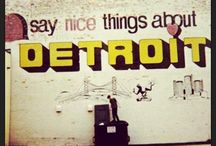 THIS is Detroit / Share your love of The D and all of Michigan. Support our local artists, businesses and non-profits!