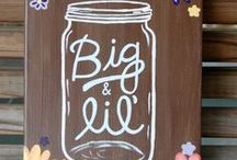 Big/Little / Sorority big sister and little sister craft ideas  / by Caitie Switalski