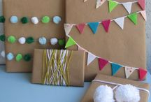 Gift Wrap Ideas / by Jaime Lee