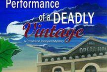 River Bend Vineyard/Tangled Vines Mystery Series / Cozy Mystery written as Joni Folger