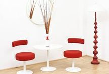 Design in Red! / Lamps, furniture, accessories, everything that means design...as long as it's red!