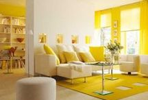 Design in Yellow! / Lamps, furniture, accessories, everything that means design...as long as it's yellow!