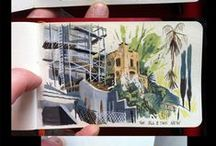 travel sketchbook. / Everything travel and sketches. Places through the eye and the hand of an artist. On the spot and about places.