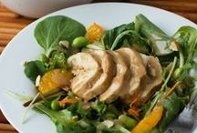 Let's Eat - Salad / Salad recipes- including pasta, greens, and grains! / by Shannah @ Just Us Four