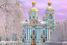 Voyage : Russia/Russie + Ukraine / Voyage en Russie et en Ukraine: Plus grand pays au monde. Architecture colorées et vie nocture étonnante. // Travel in Russia and Ukraine: Largest country on Earth. Colorful architecture and vibrant nightlife.