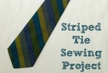 Gifts to sew for men / Projects for things to sew for men to make gifts for Father's Day, Christmas and birthdays / by Sewing Directory