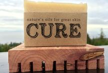 CURE SOAPS / Beautifully handcrafted, all natural soaps by CURE.
