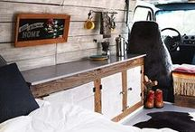 Vanlife Interiors / Inspiration for your vanlife conversions and interiors!