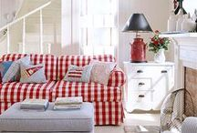 red gingham galore / by Ode To June