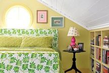 tiny bedrooms.....country casual