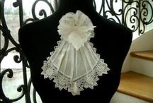Antique lace made Fresh / vintage & antique laces inspirations