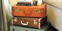 vintage luggage reinvented