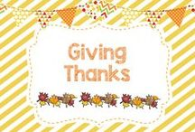 Giving Thanks / DIYs, crafts, activities, and more for Thanksgiving and Fall!