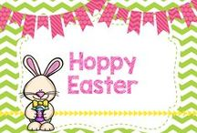 Hoppy Easter! / DIYs, crafts, activities, and more for Easter!