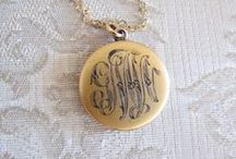 vintage monograms / by Ode To June