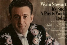 """Wynn Stewart - singer, musician - my daddy / Wynn Stewart was a singer and musician from the late 1950's until 1985, when he passed away. He is best known for his #1 song of the YEAR, in 1967, """"It's Such a Pretty World Today"""". He was a pioneer of the Bakersfield / West Coast sound. He helped start the careers of Merle Haggard and Buck Owens. He is well respected by others in the music industry and is currently featured in the California Country/Bakersfield exhibit at the Country Music Hall of Fame in Nashville.  see WynnStewart.com / by Wren Tidwell"""