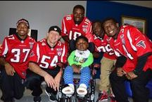 Falcons in the Community