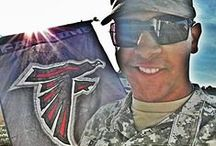 Falcons Support the Troops
