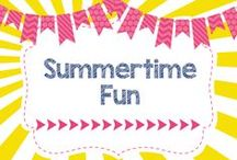 Summertime Fun! / DIYs, Activities, Crafts, and more all geared towards Summertime Fun!