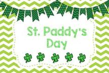 St Paddy's Day / DIYs, crafts, activities, and more for St. Paddy's Day!