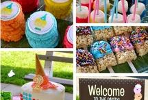 Grace's Ice Cream Social Birthday Party / by Sweet'n Treats