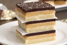 RECIPES-Freakin Dessert and Cookie Bars / This is why I can't loose weight. / by Carrie Rasmussen