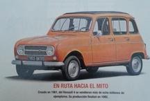 Renault 4 / Renault 4 o cuatro latas fue el vehiculo usado por la Gendarmerie francesa y la Guardia Civil española debido a su bajo coste, extrema dureza y capacidad de ir por terrenos abruptos. Cambio e-shop por Renault 4 en regla