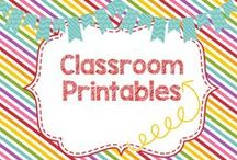 Classroom Printables and Clipart / Printables and clipart for the Classroom!