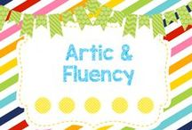 Artic and Fluency / Activities for Articulation Therapy
