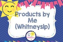 Whitneyslp / Products (free and paid) created by me (Whitneyslp)!