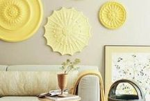 Home: Walls / Art, pretty paint colors, gallery wall inspiration.