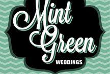 Mint Green Weddings / Wedding Planning - Coordination - Graphic Design Vancouver, BC / by Pau Alvarez