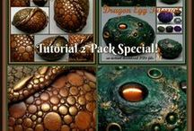 Cool Polymer Clay Tutorials / A collection of polymer clay tutorials by myself and other artists across the globe!