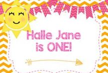 Halle Jane is ONE! / Halle Jane turns ONE with a Sunshine Party!