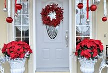 Christmas Porch ideas / by Wren Tidwell