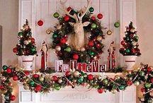 Christmas Mantels / by Wren Tidwell