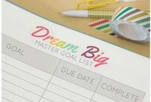 Free Organizing Printables / Free organizing printables for to help you organize your home, family, and life!