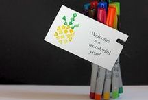 Teacher Gift Ideas / Creative teacher gift ideas.