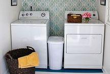 Home: Laundry Room Ideas / I want a pretty laundry room!