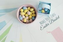 Easter Printables / Easter printables for kids and printable Easter decorations, too. / by Carrie Lindsey