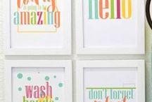Home: Beautiful Bathroom Ideas / Bathroom decorating ideas for the master bath, guest bath and kids' bathrooms.